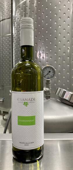 Chardonnay 2020 Hajós – Bajai OEM száraz fehér (2020)